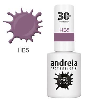 Verniz Gel Andreia HB5 – Lilás Nude