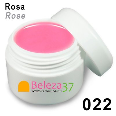 Gel de Cor 022 – Rosa (Rose)