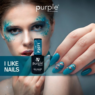 Verniz Gel PURPLE P2071 – I Like Nails