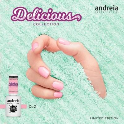 Verniz Gel Andreia DC2 – Rosa Candy