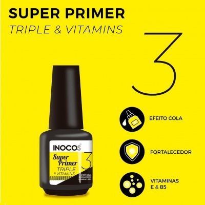 Super Primer Inocos Triple Vitamins 15ml