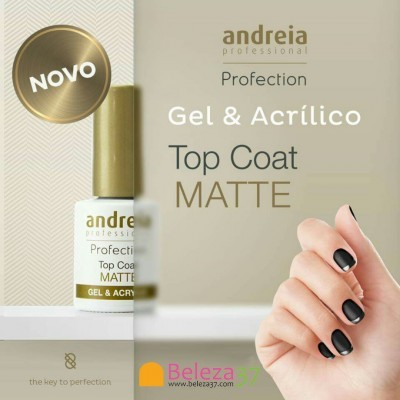 Top Coat Mate Com Goma — Andreia Profection
