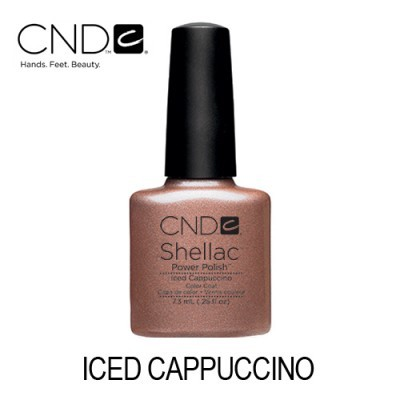 CND Shellac – Iced Cappuccino