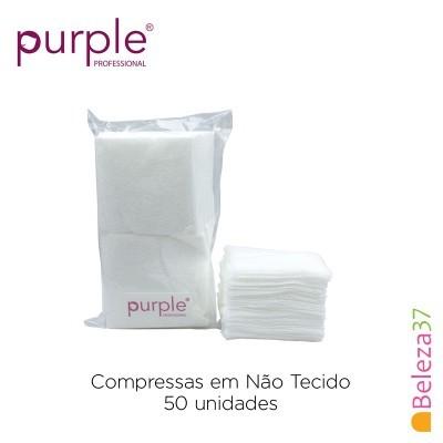 Compressas PURPLE em Não Tecido 50 unid. 5 * 5 - 50 unidades