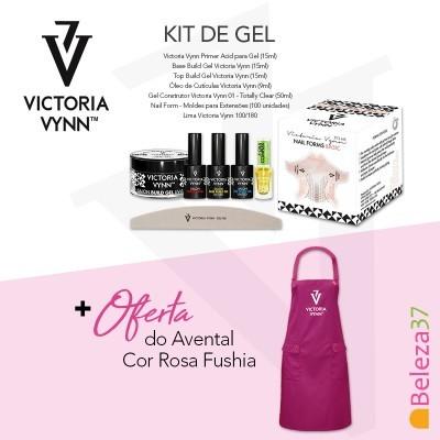 Kit de Gel Victoria Vynn + OFERTA de Avental Rosa Fushia
