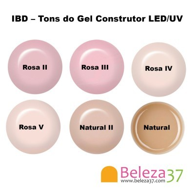 IBD – Gel Construtor LED/UV Natural II 14g