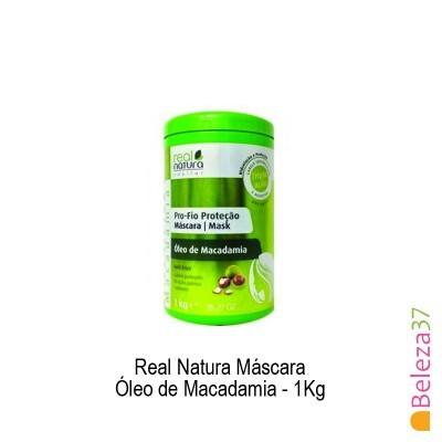 Máscara Real Natura - Óleo de Macadamia 1Kg