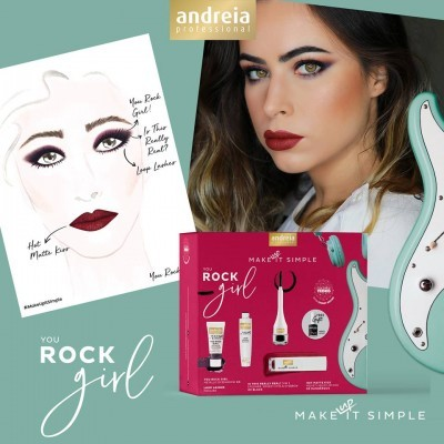 Coffret de Maquilhagem Andreia - YOU ROCK GIRL
