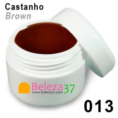 Gel de Cor 013 – Castanho (Brown)
