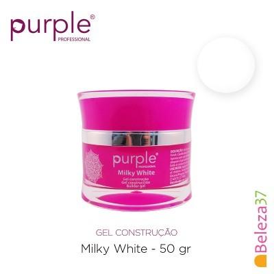 Gel Construtor Purple Milky White – Branco Leitoso 50g