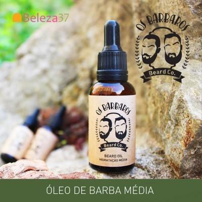 Óleo de Barba Cítrico - Hidratação Media