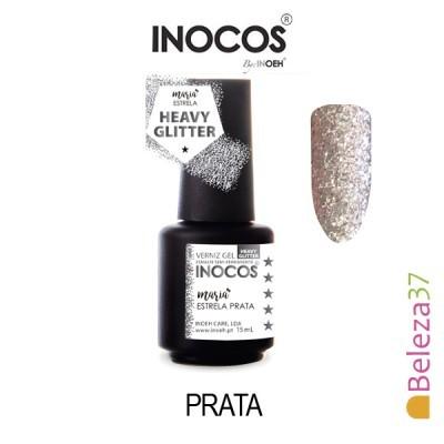 Verniz Gel Inocos - 133 - Maria Estrela Prata