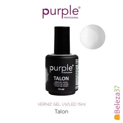 Verniz Gel UV/LED 15ml PURPLE 789 – TALON (Branco Puro)