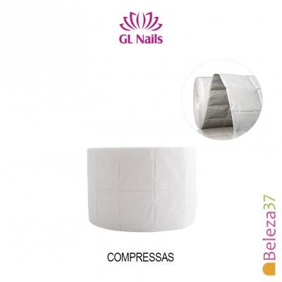500 Compressas GL Nails