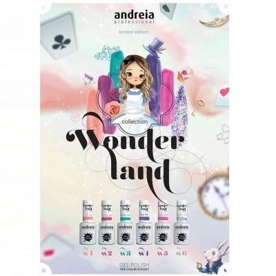 """Verniz Gel Andreia – 6 Cores da Coleção """"WONDERLAND"""""""
