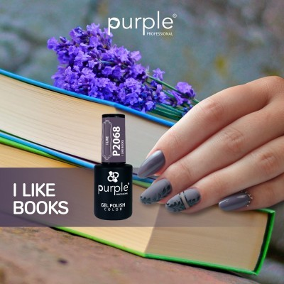 Verniz Gel PURPLE P2068 – I Like Books