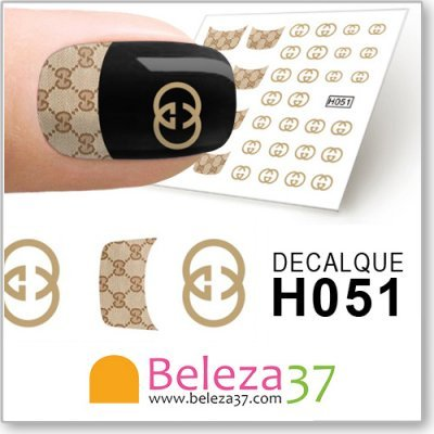 Decalques da Gucci (H051)