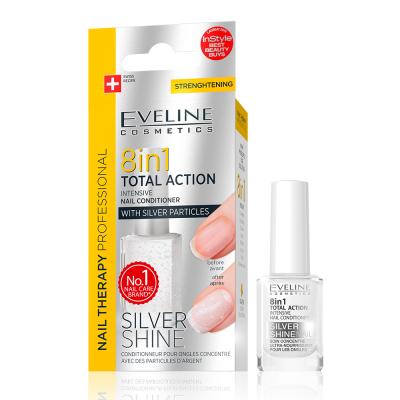 Tratamento de Unhas Eveline 8 em 1 Silver Shine
