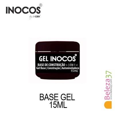 Gel Inocos — Base Construção 3 em 1 — 15ml