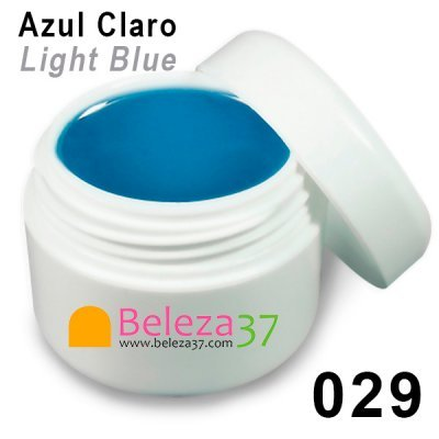 GEL DE COR 029 – Azul Claro (Light Blue)