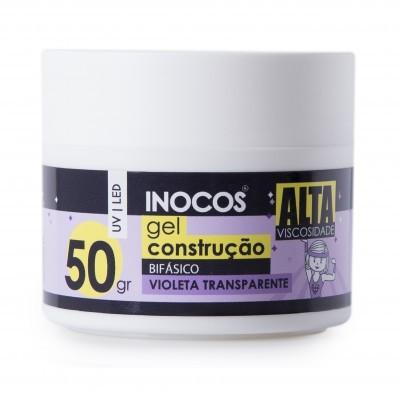 Gel Construção Inocos Alta Viscosidade - Transparente Violeta 50g