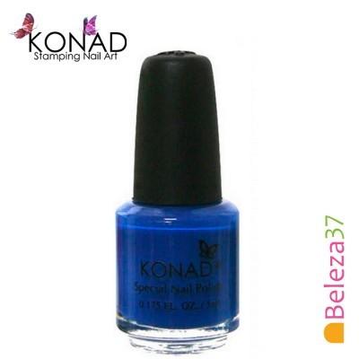 Verniz para Carimbo Konad 5ml - Blue Pearl (Azul Pérola)