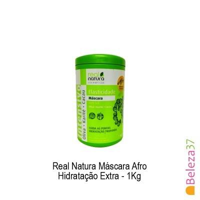 Máscara Real Natura - Afro Hidratação Extra 1Kg