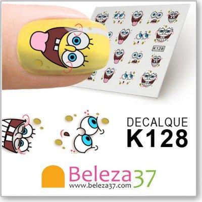 Decalques do Sponge Bob (K128)
