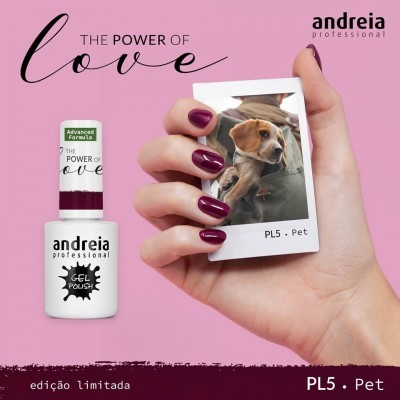Verniz Gel Andreia – Pet PL 5 (Roxo Beringela)