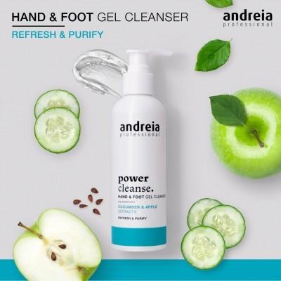 Power Cleanser Andreia - Gel de Limpeza para mãos e pés 200ml