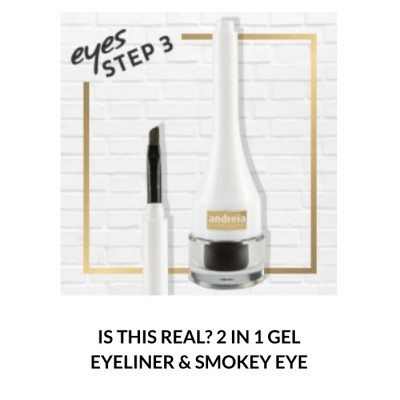 Andreia Eyes 3 - IS THIS REAL? 2 in 1 Gel