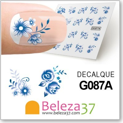 Decalques Florais (G087A)