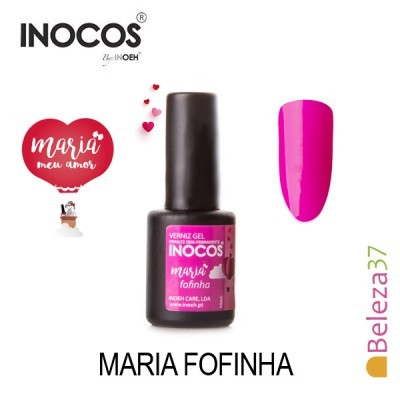 Verniz Gel Inocos – Maria Fofinha 10ml
