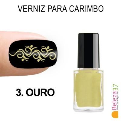 Verniz para Carimbo - 3. OURO