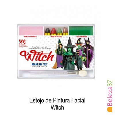 Estojo de Pintura Facial - 08 - Witch (Bruxa)