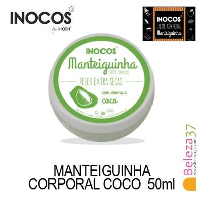 Manteiguinha Corporal Côco Pele Extra Seca 50ml