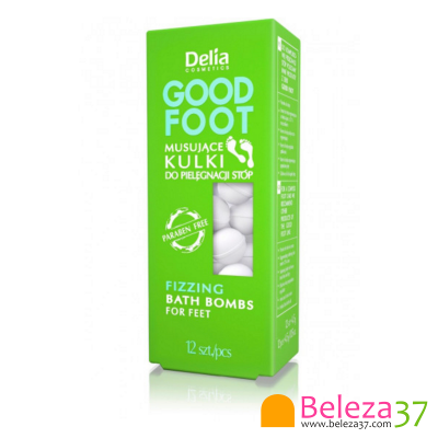 Pastilhas Efervescentes Relaxantes Delia com 12 unidades