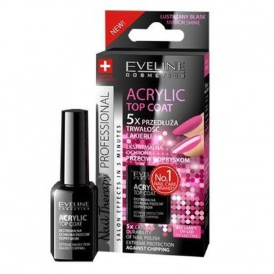 Tratamento de Unhas Eveline Acrylic Top Coat
