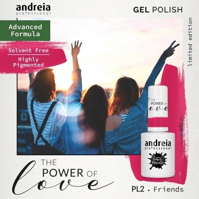 Verniz Gel Andreia – Friends PL 2 (Rosa Pop)