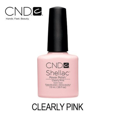 CND Shellac – Clearly Pink