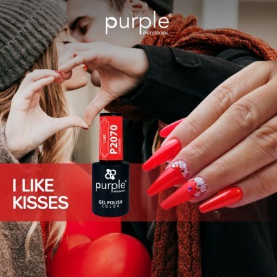 Verniz Gel PURPLE P2070 – I Like Kisses