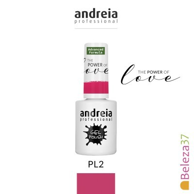 "Verniz Gel Andreia – 6 Cores da Coleção ""The Power of Love"""