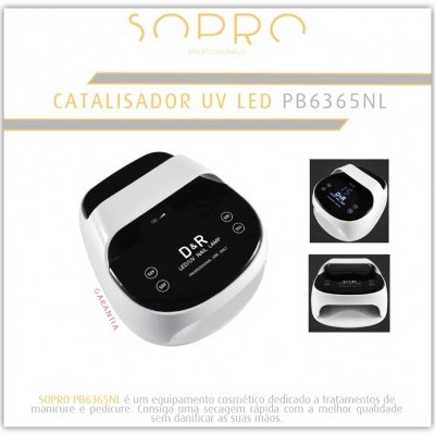 Catalisador Sem Fios Sopro UV+LED