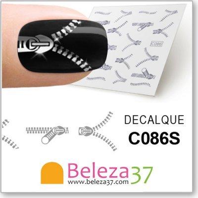 Decalques Fecho Eclair (C086S)