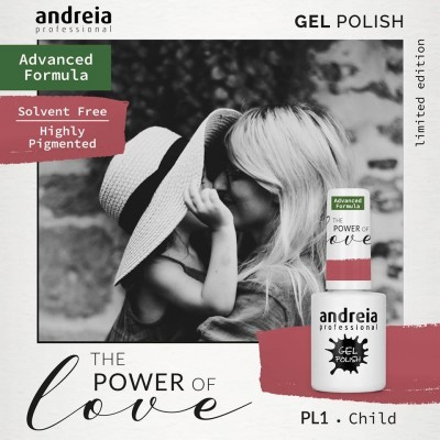 Verniz Gel Andreia – Child PL 1 (Rosa Pastel)
