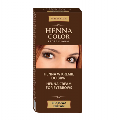 Tinta para Sobrancelhas - Henna Venita