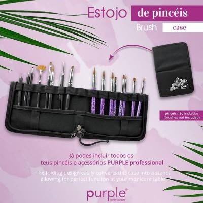 Estojo de Pincéis Purple