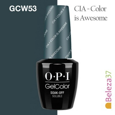 OPI GC W53 - Color is Awesome (CIA)