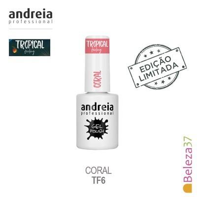 Verniz Gel Andreia TF6 – Coral (Coral)