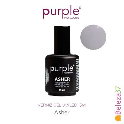 Verniz Gel UV/LED 15ml PURPLE 640 – ASHER